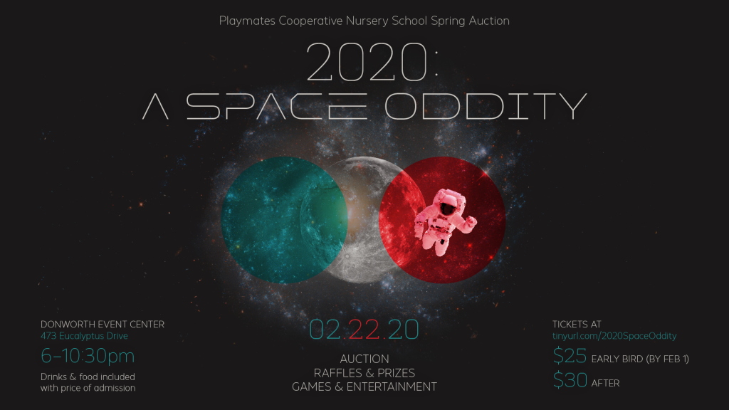2020: A Space Oddity - Fundraising Auction Benefiting Playmates Co-Operative Preschool